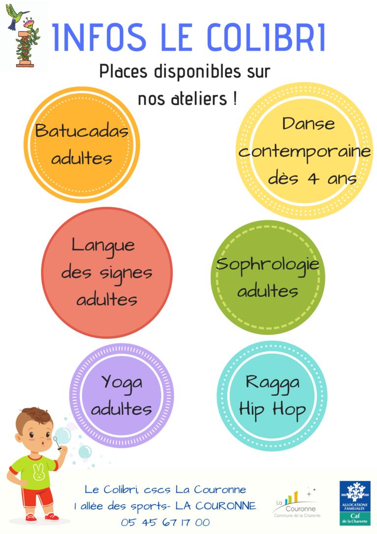2021 - ACTIVITES DE LOISIRS